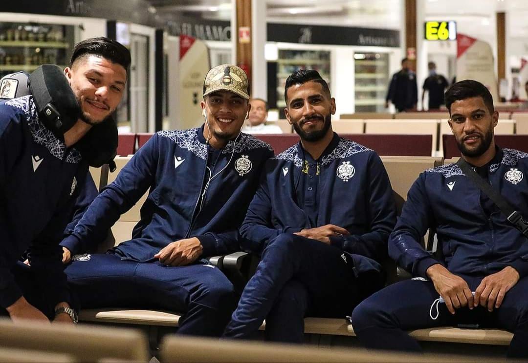 دوري الأبطال   بعثة الوداد تغادر نحو جنوب إفريقيا لحسم التأهل إلى النهائي