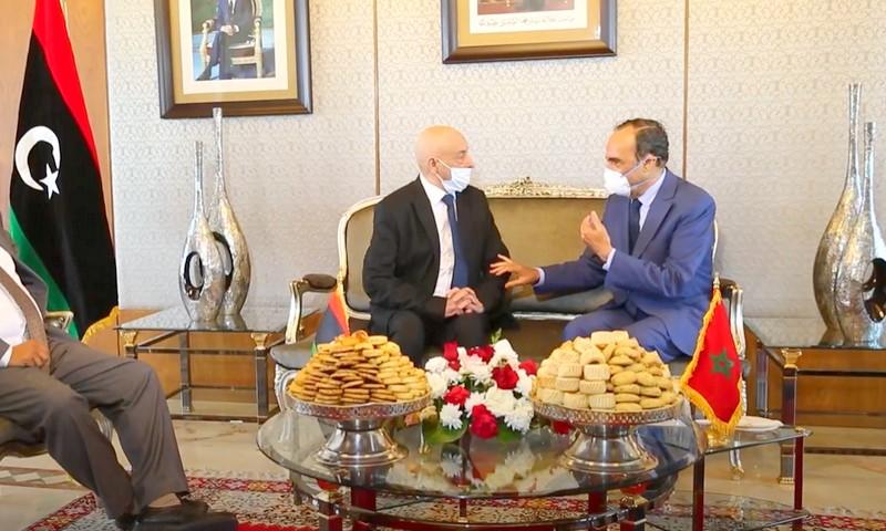 عقيلة صالح: ليبيا تحتاج دائمًا إلى دعم المغرب لتحقيق استقرار الليبيين