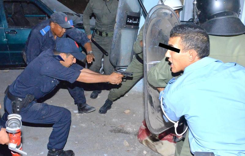 مراكش. رصاصات بوليسية تطيح بمجرم حاول تفجير 'بوطا' في وجه الأمن