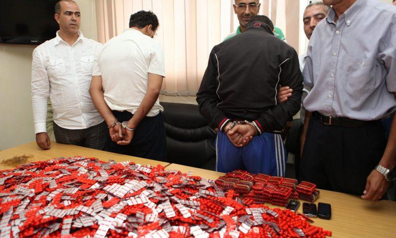 شرطة ميناء طنجة تحجز 6 آلاف قرص مخدر داخل شاحنة قادمة من اسبانيا