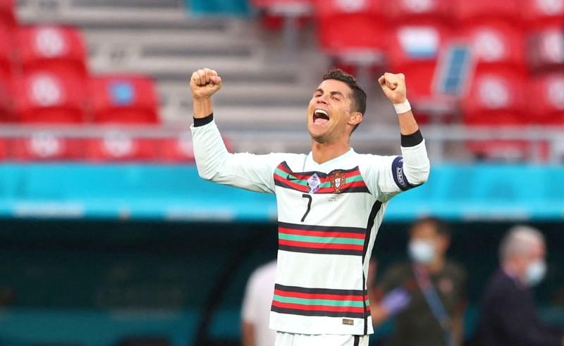 رونالدو يكتب التاريخ مع البرتغال في 'يورو 2020' ويسجل أرقام قياسية