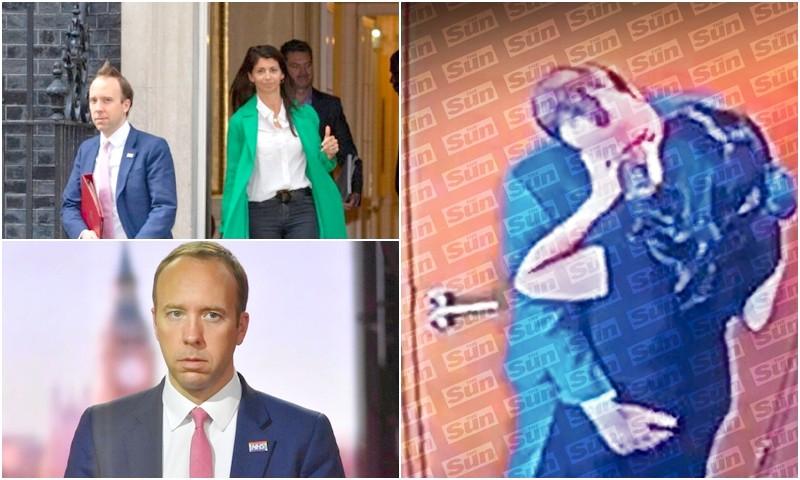 وزير الصحة البريطاني يستقيل بعد فضيحة تقبيله مساعدته وخرقه للتباعد الاجتماعي
