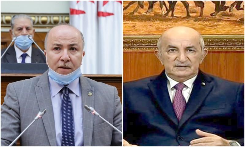 إصابة رئيس وزراء نظام تبون بكورونا يدخل الجزائر في حجر صحي مرعب