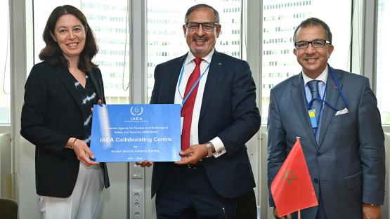 وكالة الطاقة الذرية تمنح المغرب صفة أول بلد أفريقي متعاون في الأمن النووي