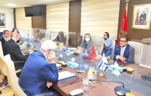 هذه تفاصيل المباحثات التي أجراها وفد إسرائيل الرفيع مع مسؤولين مغاربة بالرباط