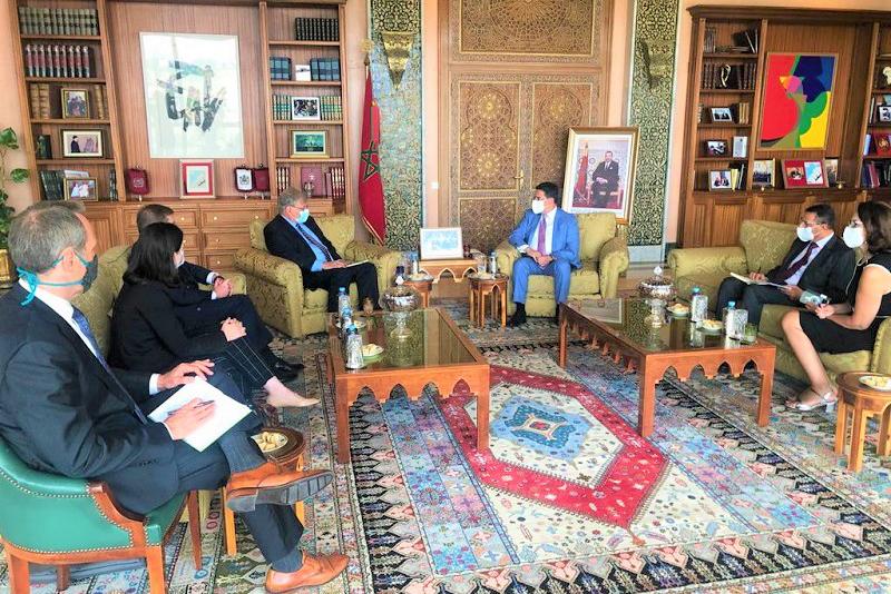 أمريكا ممتنة جداً للدور المغربي البناء في دعم المسلسل السياسي بليبيا