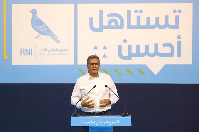 أخنوش من مراكش: لن نجيب على المُشوّشين، وما يهمنا هو مصلحة المواطن المغربي