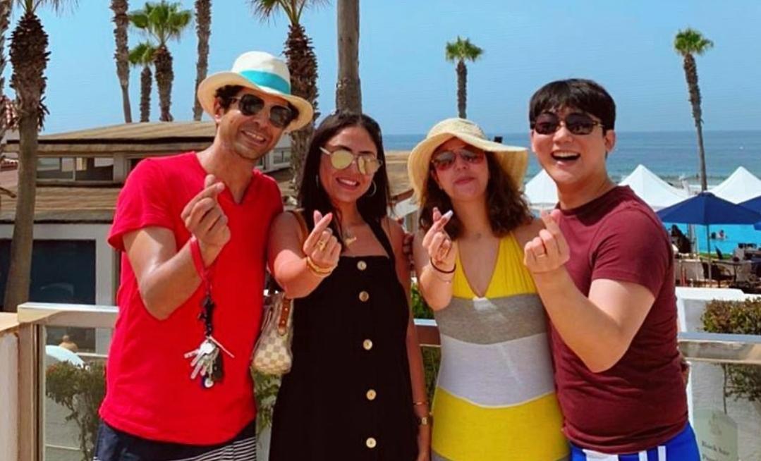 زوجة أنس الباز تظهر كممثلة في عمل تلفزي