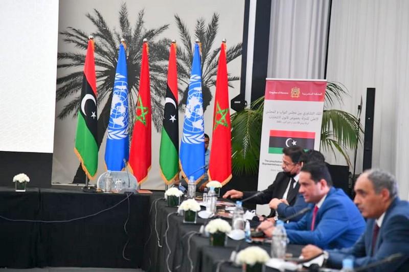 الرباط. انطلاق اللقاء التشاوري بين وفدي مجلس النواب والمجلس الأعلى للدولة بليبيا