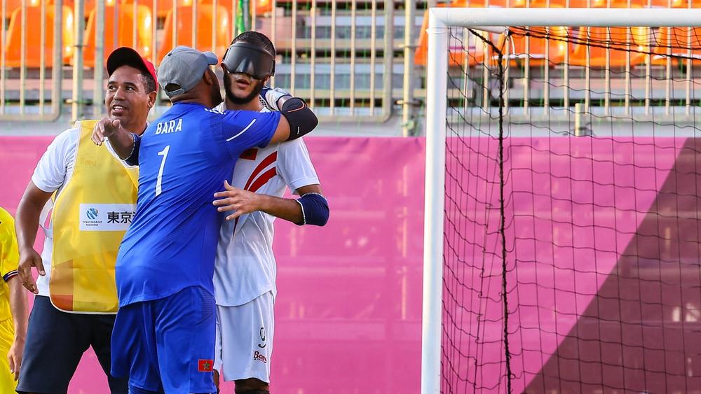 تتويج المغربي سنيسلة هداف مسابقة كرة القدم في الألعاب البارالمبية