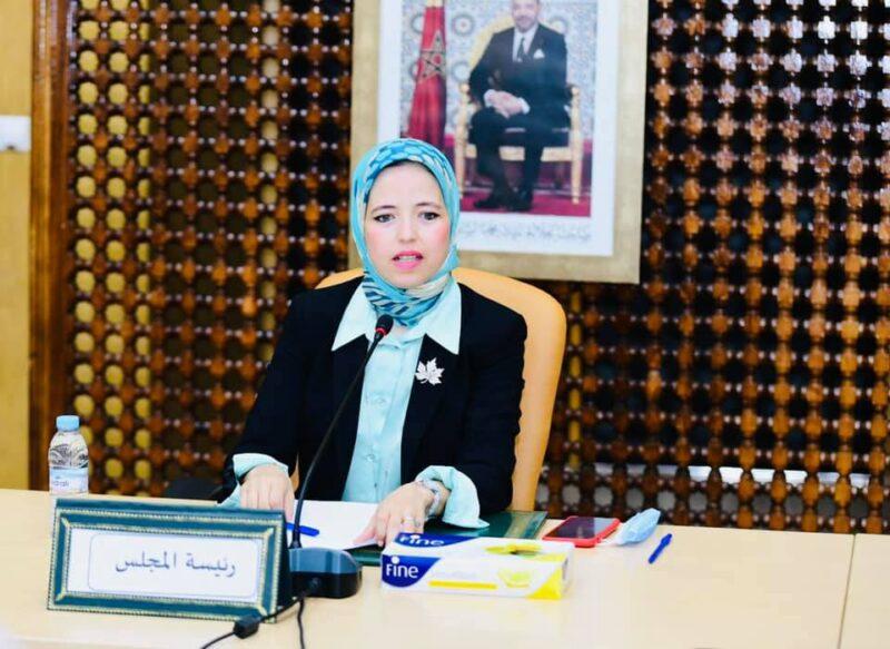 رسمياً | التجمعية الزاهيدي أول سيدة تظفر برئاسة مجلس عمالة الصخيرات تمارة