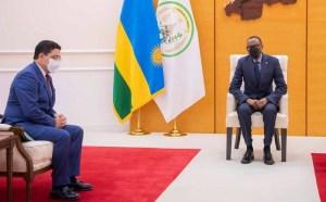 رئيس رواندا يستقبل بوريطة ويعرب عن إعجابهبالإنجازات العديدة التي حققها المغرب
