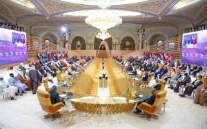 بحضور أخنوش. قادة العالم يتفقون من الرياض على خارطة طريق إقليمية 'خضراء'