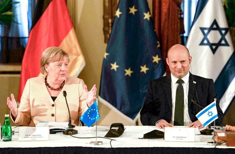 ميركل في جولة وداع إلى إسرائيل: أمن 'تل أبيب' أولوية لأي حكومة ألمانية