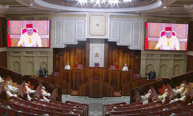 النص الكامل للخطاب الملكي في افتتاح السنة التشريعية الأولى