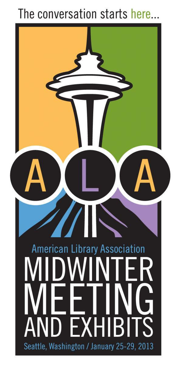 Image of ALA Midwinter Meeting 2013 logo