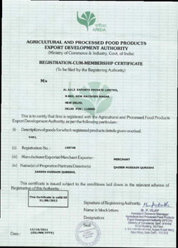 Agriculture and Processed Food, Meat exporters india