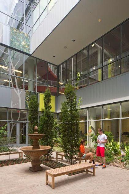Auburn's student recreation center was open in 2013. (Photo courtesy of HOK)