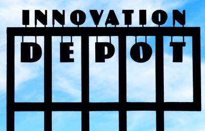 Innovation Depot is the epicenter for Birmingham's innovation district. (Michael Tomberlin/Alabama NewsCenter)