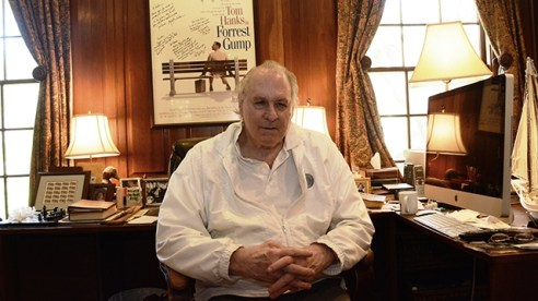 "UA alumnus Winston Groom, best known for ""Forrest Gump."" (Karim Shamsi-Basha/Alabama NewsCenter)"