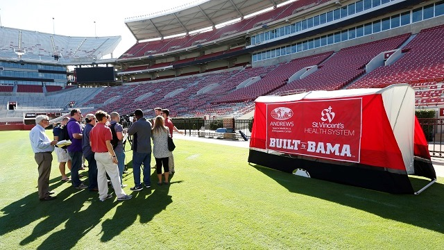 University of Alabama looks to do for sports technology what Crimson Tide has done for football