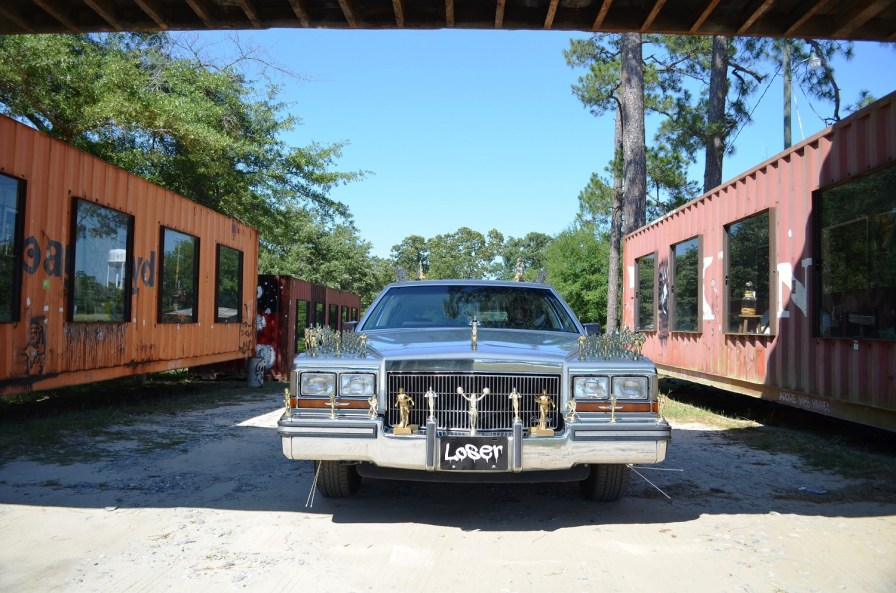 The Loser Car at the Drive Thru Museum. (Anne Kristoff/Alabama NewsCenter)