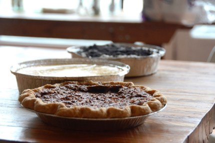 Pie Lab churns out sweet and savory pies. (Karim Shamsi-Basha / Alabama NewsCenter)