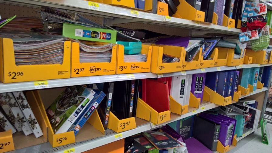 Load up on school supplies tax-free this weekend. (Ike Pigott/Alabama NewsCenter)