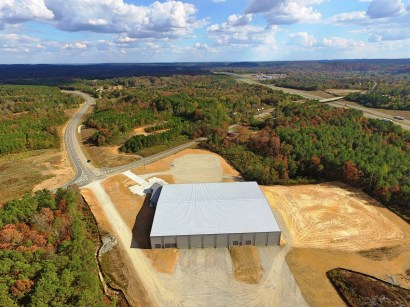 The 53,000-square-foot spec building in Jasper Industrial Park was built with the Alabama Power Spec Building Program. (Walker County Development Authority)