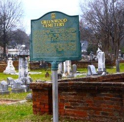 Greenwood Cemetery in Tuscaloosa. The Tuscaloosa Civil Rights Task Force is dedicated to keeping the city's civil rights history and landmarks from being forgotten. (Karim Shamsi-Basha/Alabama NewsCenter)