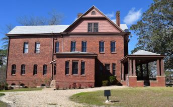 The mansion is 7,800 square feet. (Donna Cope/Alabama NewsCenter)