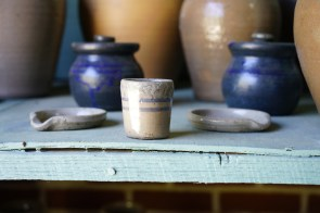 Miller's Pottery creations. (Mark Sandlin / Alabama NewsCenter)
