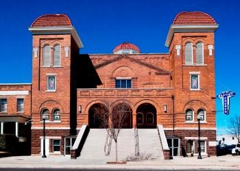 Sixteenth Street Baptist Church, Birmingham. (Carol Highsmith/Library of Congress)