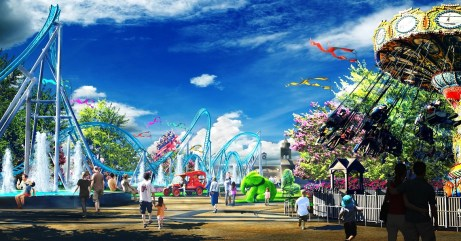 The Park at OWA will feature 21 different rides. (OWA)