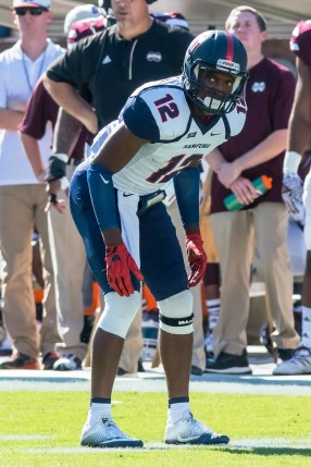 Will Omari Williams and the Samford Bulldogs be able to hold off Kennesaw State for a second time this season? (Samford Athletics)