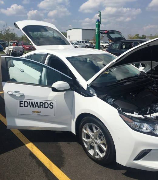 UAB hosted an electric vehicle showcase today in recognition of National Drive Electric Week contributed