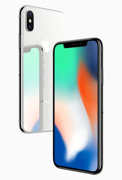 Apple says the glass front and back of the new iPhone X feature the most durable glass ever designed for a smartphone. (Apple Inc.)