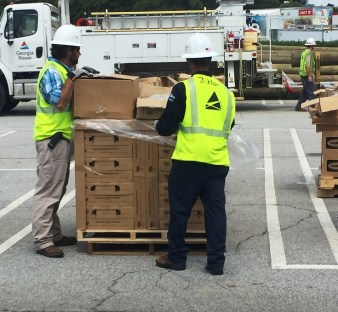 Support crews are critical to the work that line crews do when restoring massive power outages following events like Hurricane Irma. Alabama Power support and line crews have worked in Alabama, Georgia and are now in Florida. (contributed)