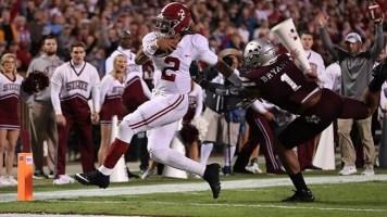 Former Alabama and Oklahoma quarterback Jalen Hurts should be a second or high third round draft pick, Mel Kiper Jr. says. (Kent Gidley / University of Alabama Athletics)