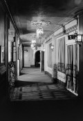 Main floor 'tunnel' near the north entrances, Alabama Theatre, Birmingham. (HABS, Library of Congress Prints and Photographs Division)