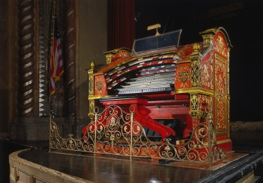 Wurlitzer organ, Alabama Theatre, Birmingham. (HABS, Library of Congress Prints and Photographs Division)