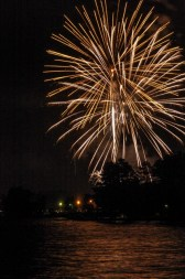 Fireworks are beautiful to watch, but when handling them yourself, beware of the dangers. (file)