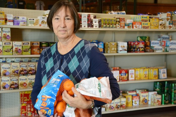 Martha Henk tries to recapture some of the estimated 39 percent of food in the U.S. that's wasted each year and redirect it to hungry people in east Alabama. (Karim Shamsi-Basha / Alabama NewsCenter)