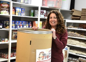 Wendy Taylor founded Barrels of Love to fill a recurring need. (Karim Shamsi-Basha / Alabama NewsCenter)