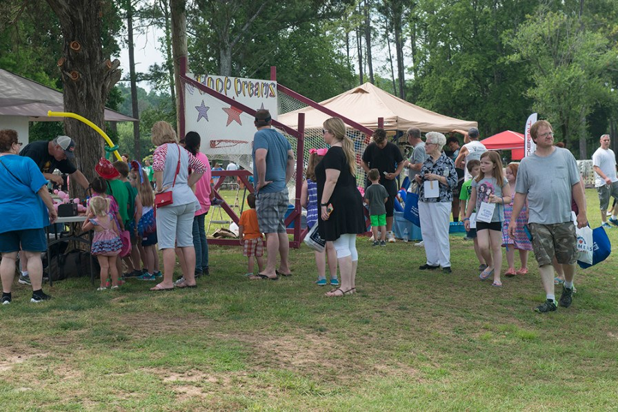 You will not want to miss a single moment of fun at Leeds Memorial Park with plenty of Arts and Crafts, vendors and food trucks. (Photo by Dona Bonnett)