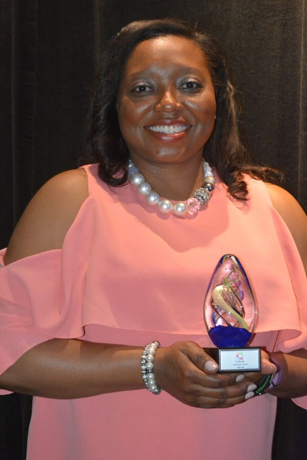 Selena Rodgers Dickerson, winner of The Creator Award. (Stephonia Taylor McLinn for The Birmingham Times)