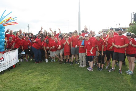 Grab your gym shoes and hit the pavement Saturday, June 9 at Railroad Park in Birmingham to support the lifesaving work of the American Heart Association. (Contributed)