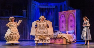 "The Broadway musical ""Beauty and the Beast"" runs through July 1 at the Dorothy Jemison Day Theater. (Stewart Edmonds)"