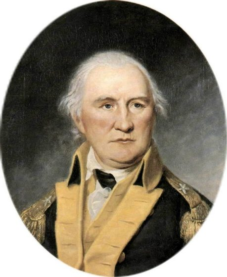 Portrait of Daniel Morgan, c. 1794. (Charles Willson Peale, Independence National Historical Park, Wikipedia)