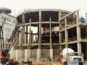 McWane Science Center under construction in the late 1990s. (contributed)
